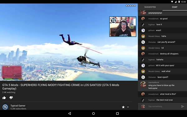 Google's YouTube Gaming website and Android, iOS apps launched