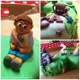 Dora and Diego Birthday Cake