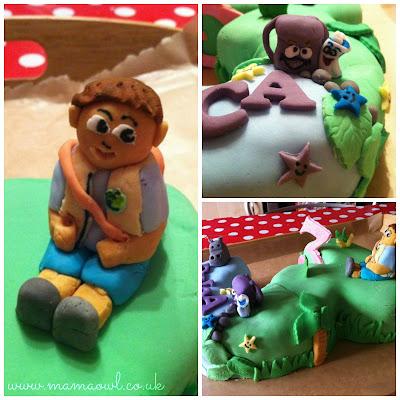 Dora and Diego Birthday Cake