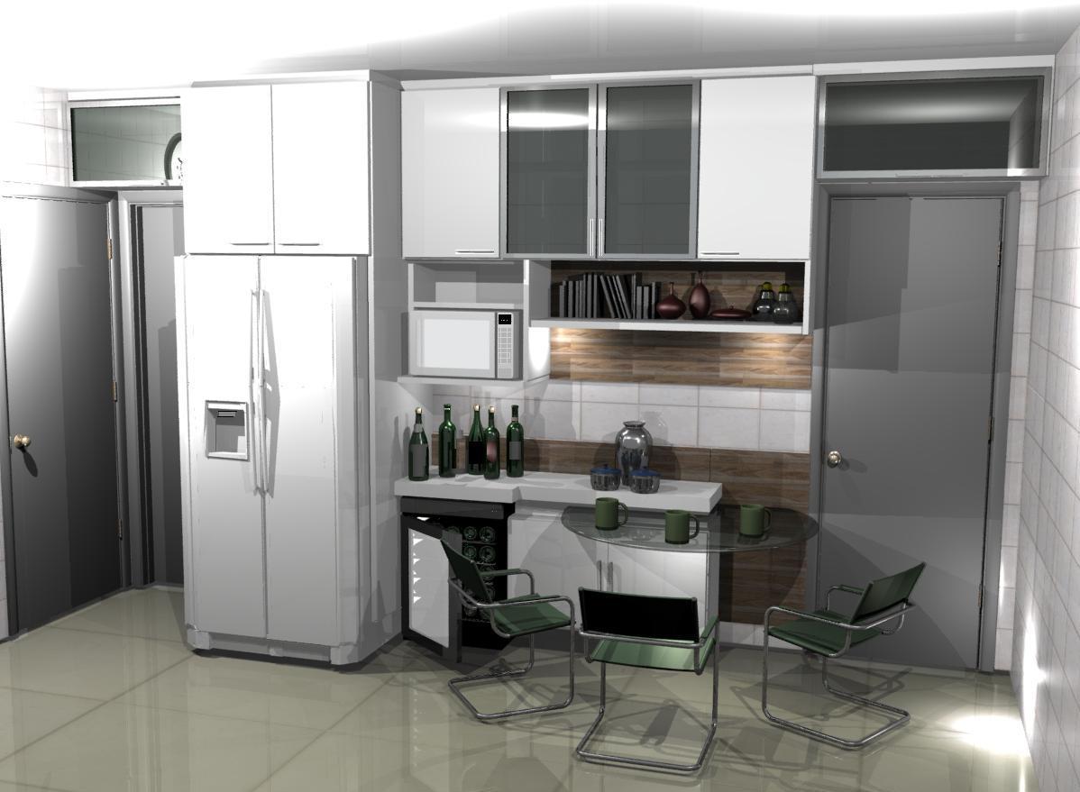 cozinha planejadas pequenas decorada americana modulada luxo moderna #5B4F44 1198 879