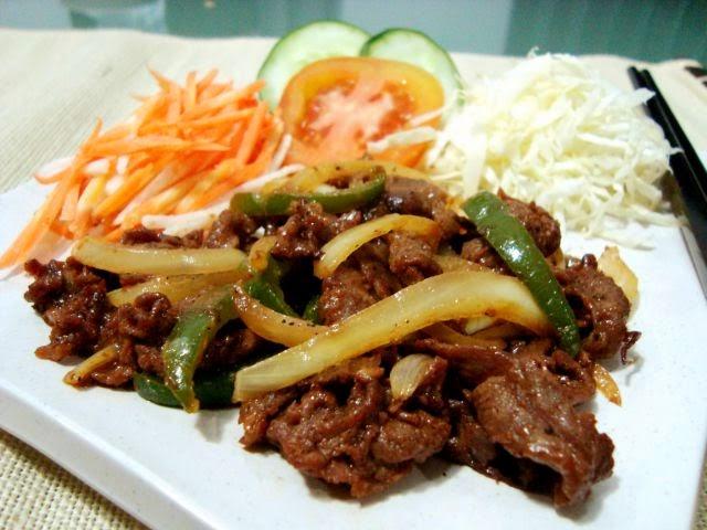 Resep Cara membuat Beef(Sapi) Yakiniku dari Jepang