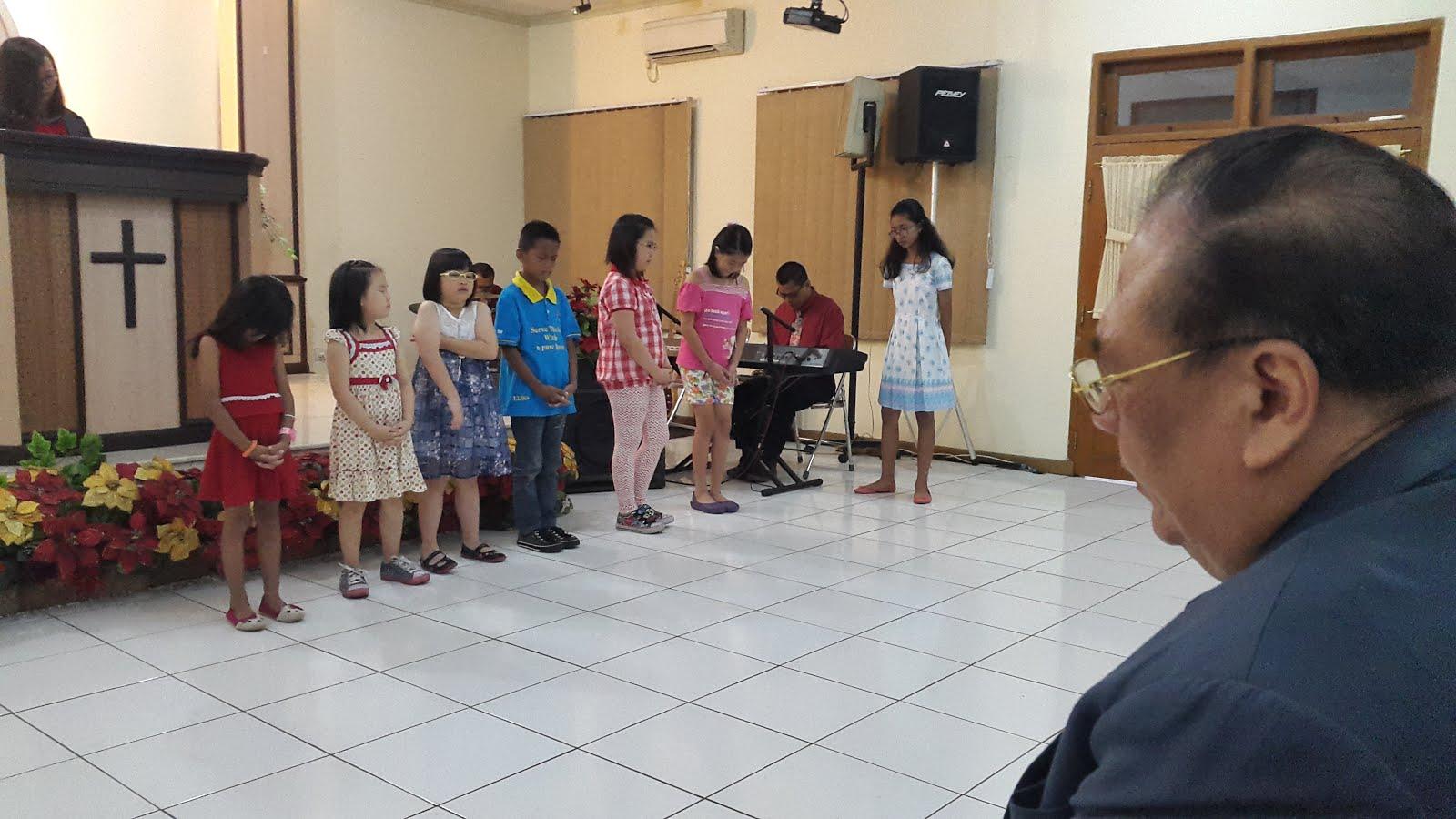 Diberkatilah Anak-Anak Sekolah Minggu