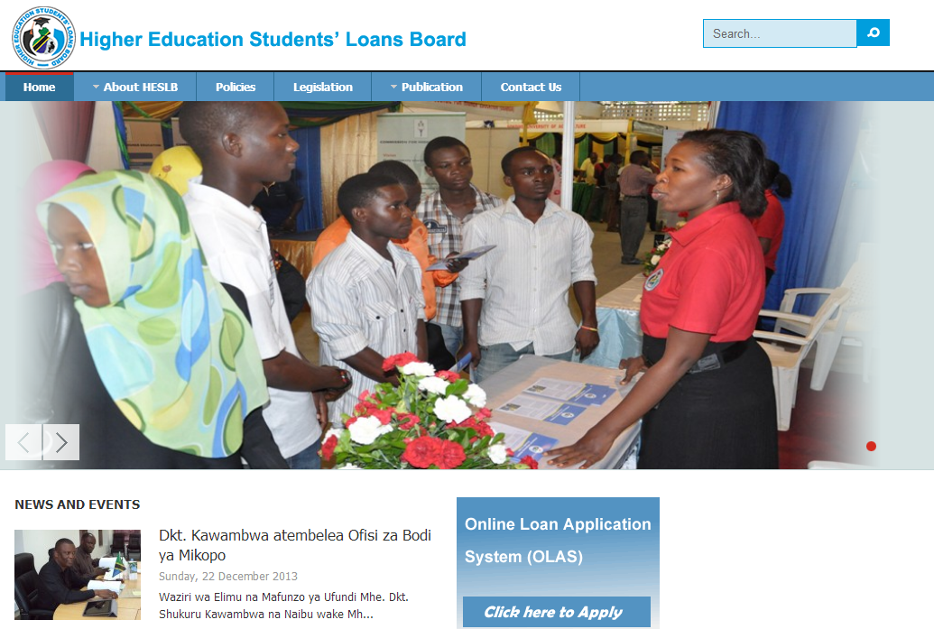 HIGHER EDUCATION STUDENT LOAN BOARD TANZANIA