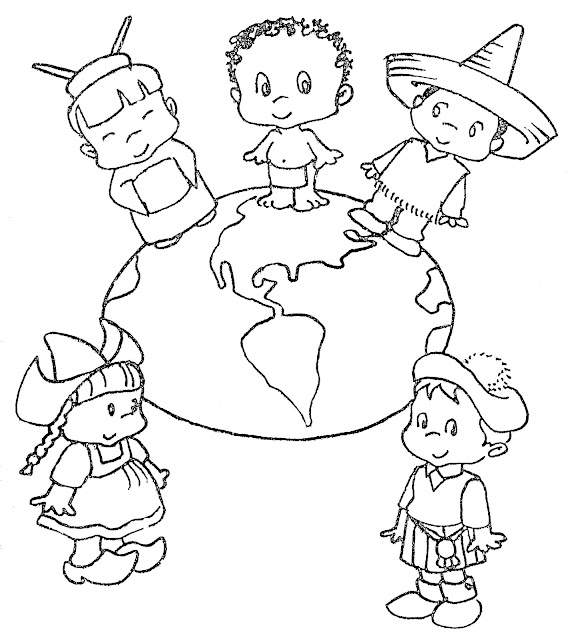 October 24 united nation day coloring pages