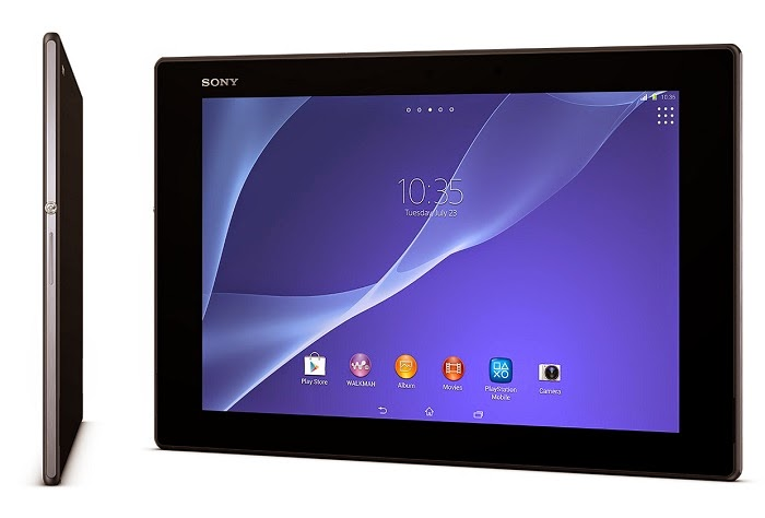 Sony releases an Xperia Z3 Tablet Compact infographic