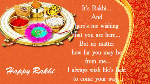 Happy Raksha Bandhan SMS Messages Wishes 3