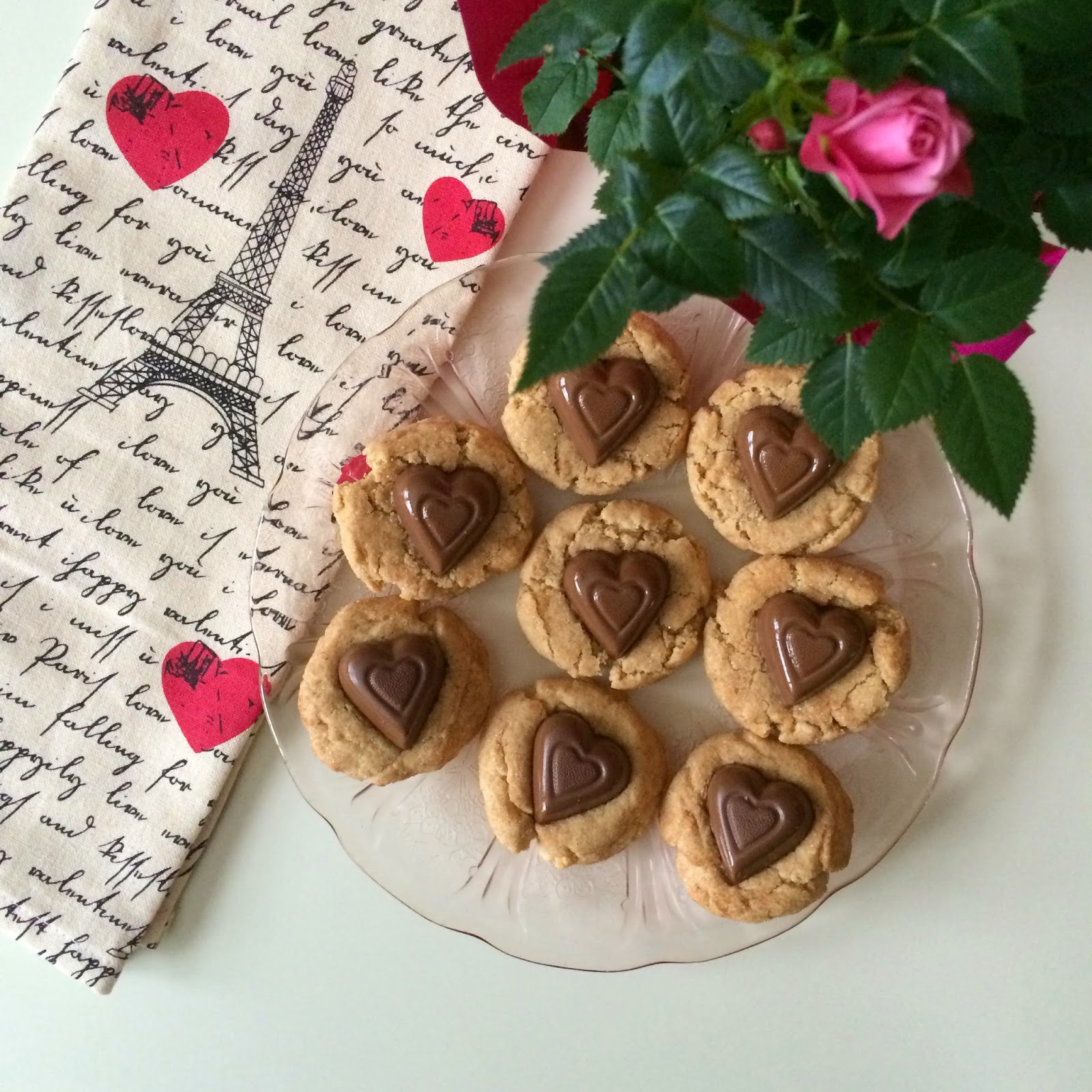 Peanut Butter Snickerdoodles, Cookie, Valentine's Day, Recipe