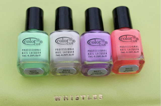 Color Club The Wanderlust Nail Lacquer Collection