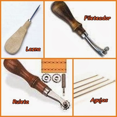 Taller de lugh artesan a en cuero herramientas b sicas for Herramientas que se utilizan en un vivero