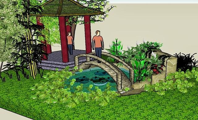 sketchup dise o de jardines casa dise o casa dise o. Black Bedroom Furniture Sets. Home Design Ideas