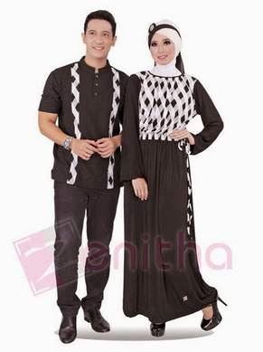 Baju Muslim Berpasangan Trendy untuk Lebaran