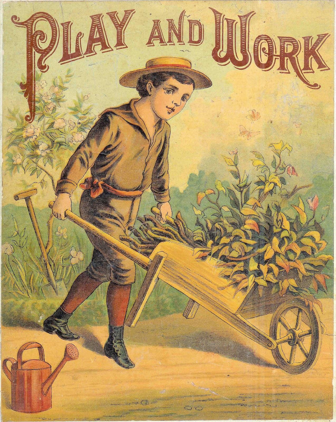 Vintage Children S Book Cover Art ~ Antique images february