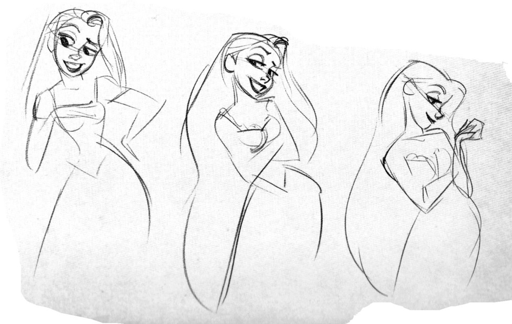 Character Design Library : Living lines library tangled character rapunzel