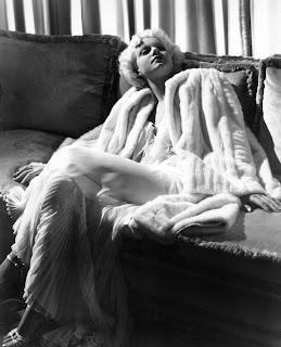 Jean Harlow Fur