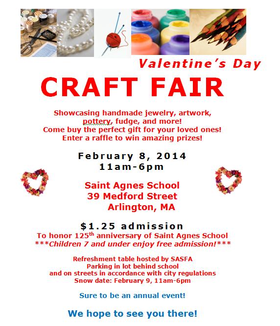 Saint agnes catholic church saint agnes craft fair next for Craft fair application template