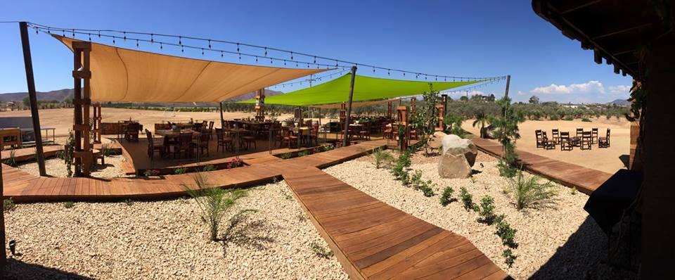 New Winery Restaurant Corona Del Valle