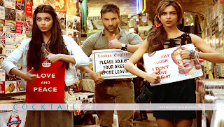 Cocktail Movie Review - featuring Saif Ali Khan, Deepika Padukone and Diana Penty
