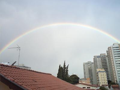 Arco-Iris em São José dos Campos