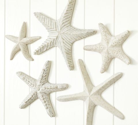 shop ocean friendly faux starfish decor resin wood and others completely coastal. Black Bedroom Furniture Sets. Home Design Ideas