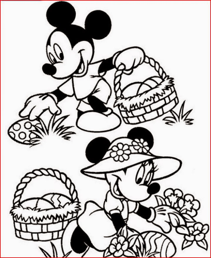 The Holiday Site Easter Clip Art and Coloring Pages
