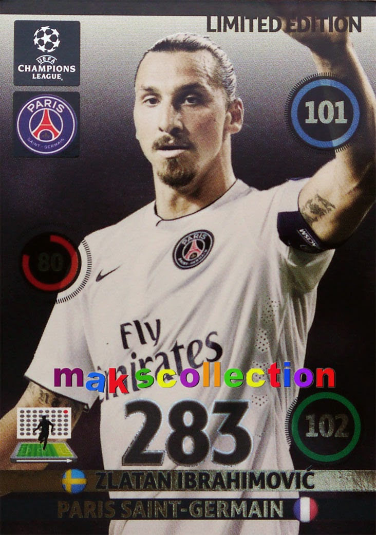 Champion League Cards 2014 2014-15 Champions League Cards