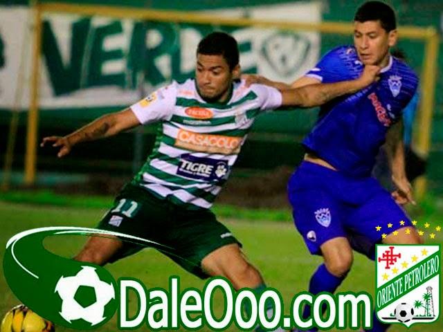 Oriente Petrolero - Alcides Peña - Sport Boys - DaleOoo.com página del Club Oriente Petrolero