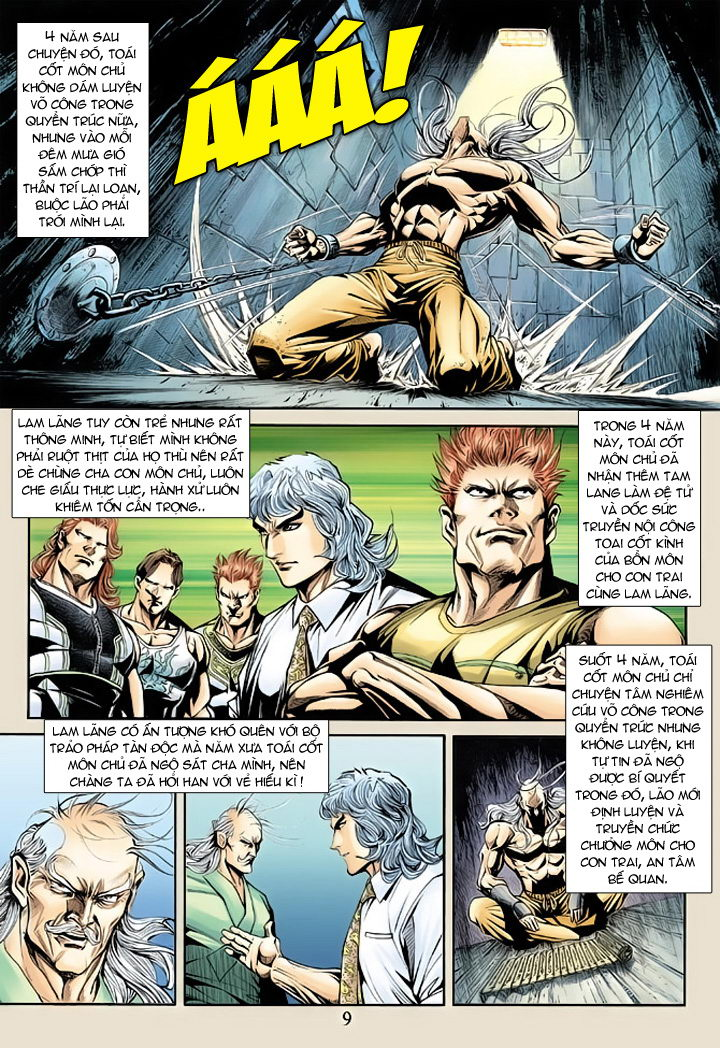 Tân Tác Long Hổ Môn chap 175 - Trang 9