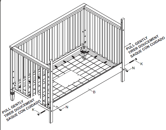 ikea sundvik crib instructions