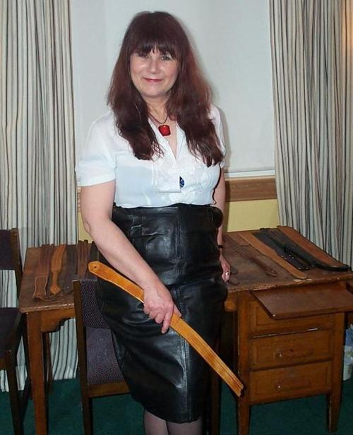 Mature ladies spanked