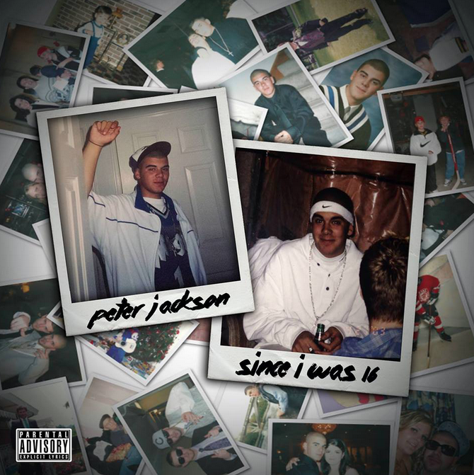 Peter Jackson - Since I Was 16 Album / Mixtape Cover