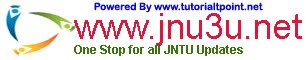 JNTU Results, Timetables, Notifications