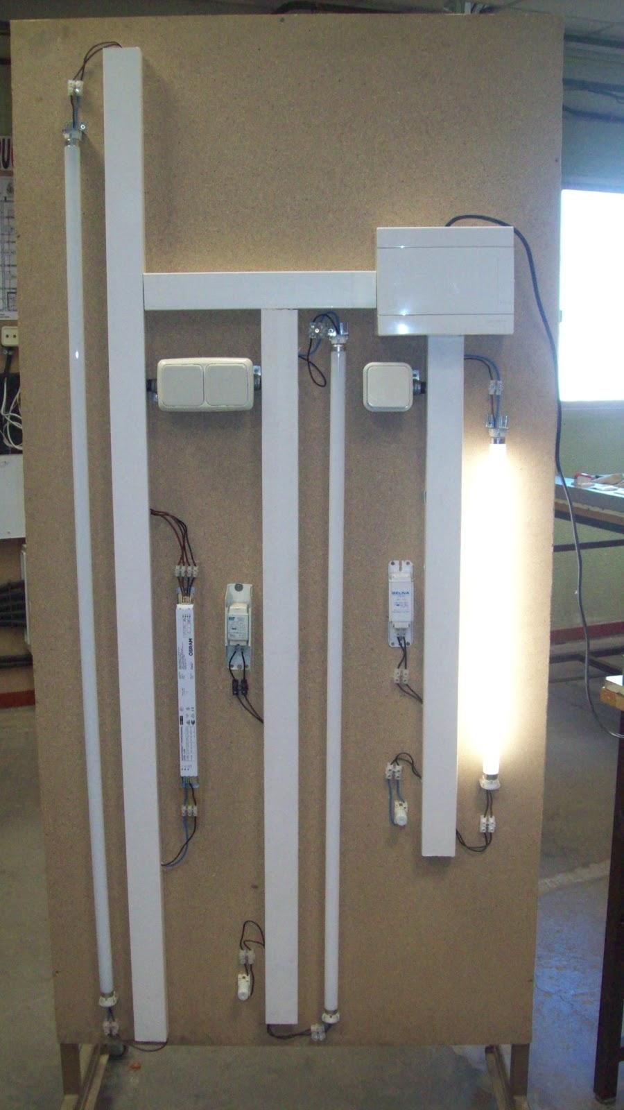 Formaci n profesional b sica electricidad electr nica - Tubo fluorescente 36w precio ...