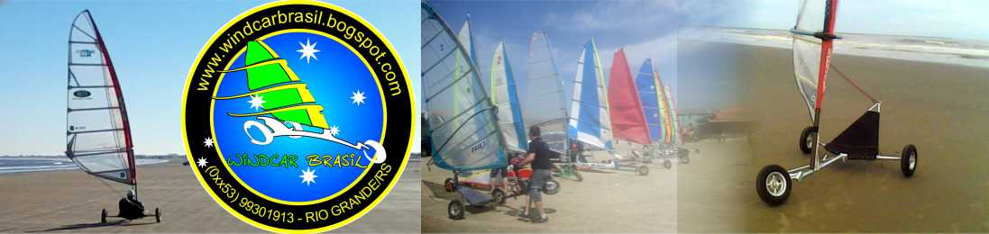 Windcar Brasil - carrovelismo, kitebuggy e muita praia