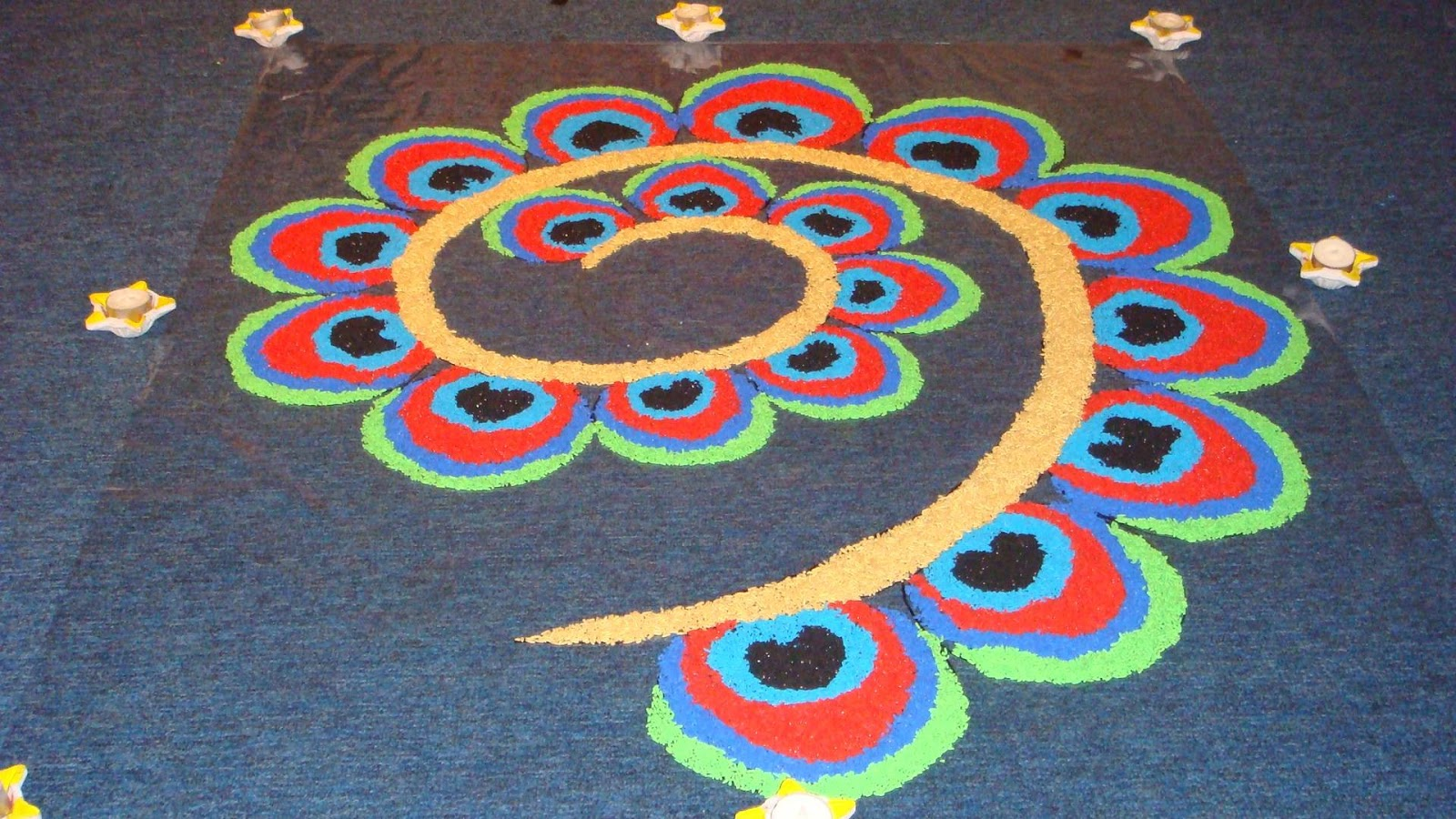 Happy Diwali Rangoli Mallinaths New Blog On Technology