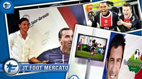 FOOTMERCATO ( France ) -  22 / 07 / 2012 - Artículo en Prensa