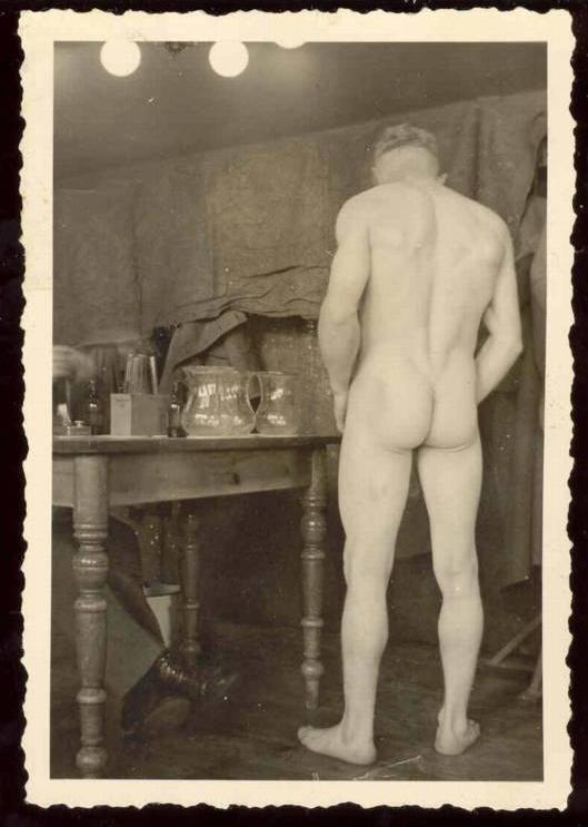 nude Vintage men male