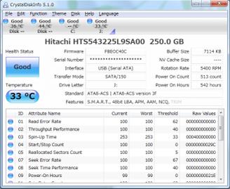 CrystalDiskInfo 5.6.0 Portable