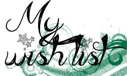 Lista de deseos ♥