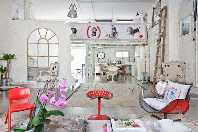 Atelier rue verte le blog loft d 39 un photographe for Decoracion de estudios modernos