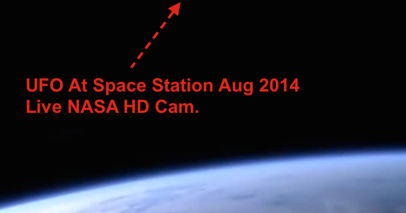 UFO SIGHTINGS DAILY: UFO At Space Station Seen On Live HD ...