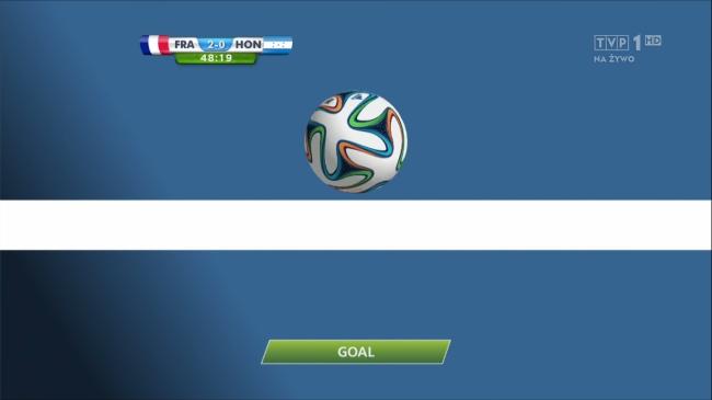 Na mistrzostwach świata w Brazylii zadebiutowała technologia goal-line