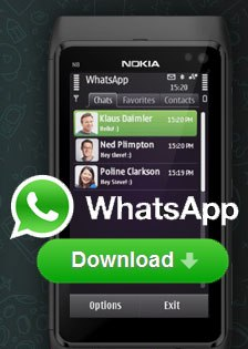 Download WhatsApp Messenger(Latest Version) for Nokia s40,Symbian,Android,Blackberry and Iphone
