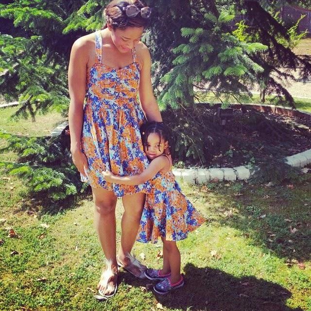 Bridal Photoshoot With Mom Daughter Natural Hair