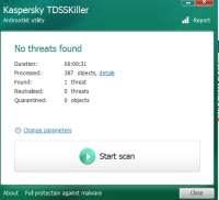 Rimuovere virus TDSS