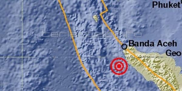 Foto Gempa Aceh 22 Januari 2013