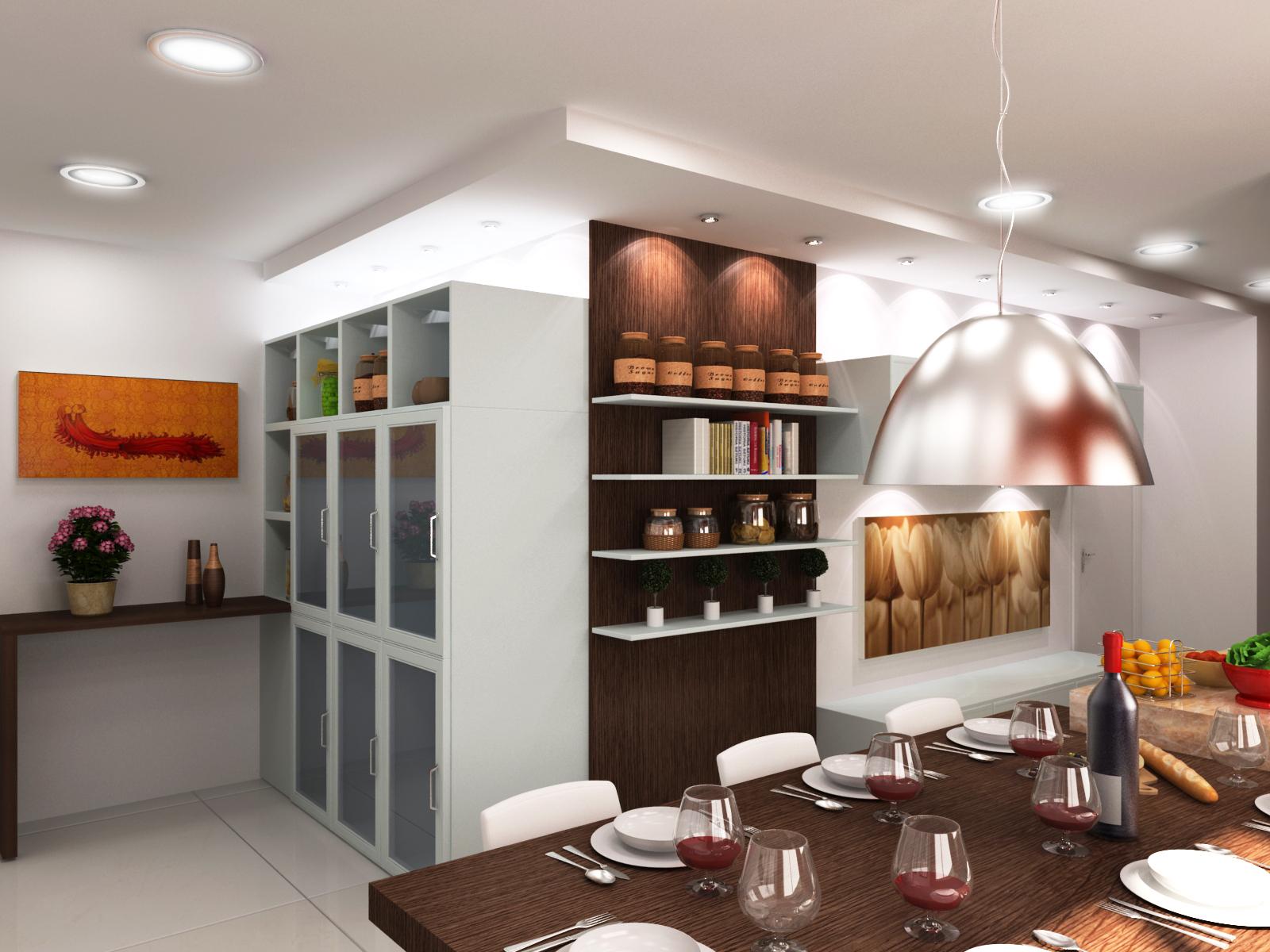 NA Arquitetura e Design de Interiores: RESIDENCIAL Cozinha #B64415 1600 1200