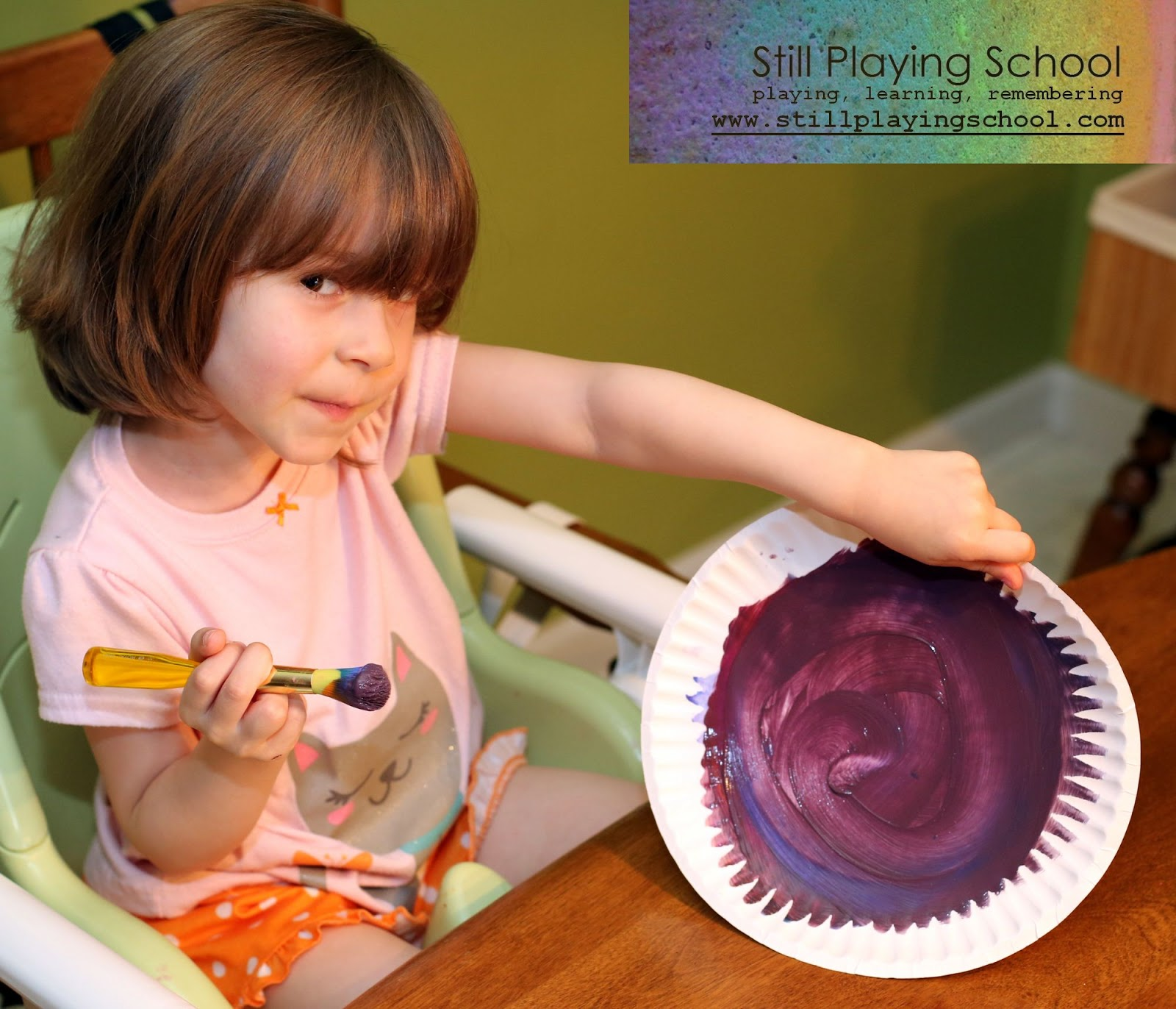 Splat studio preschool summer camp still playing school - Purple and red go together ...