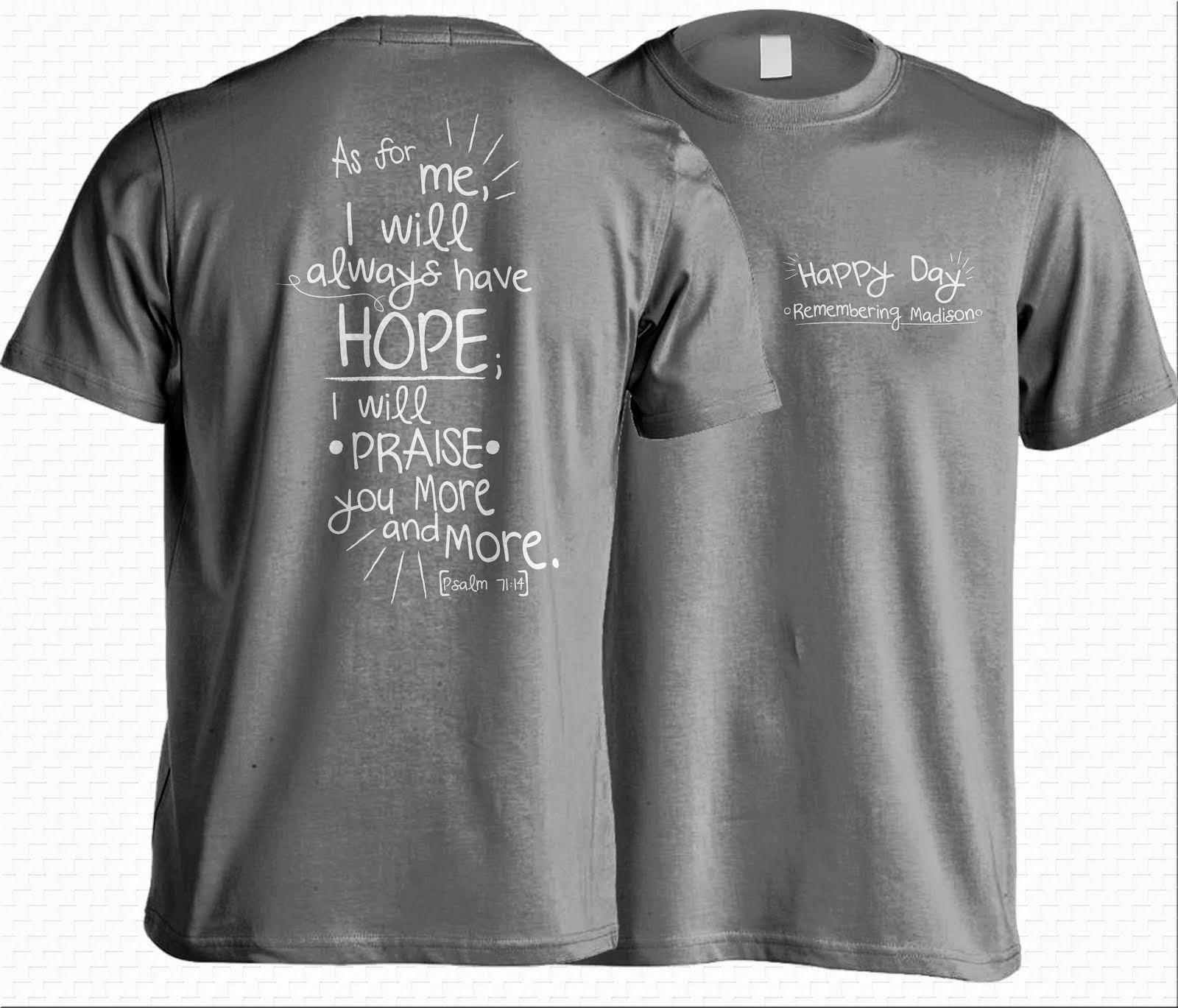 Remembering Madison Grace Riley T-Shirt