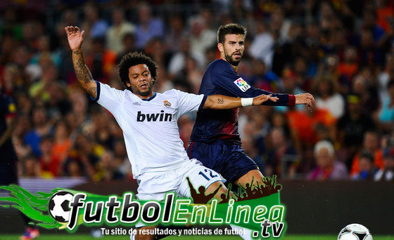 Barcelona contra Real Madrid en Vivo 2012