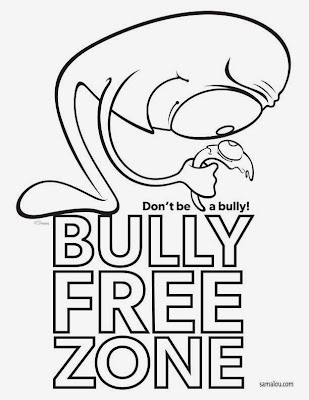 Free Anti-Bullying Coloring Pages
